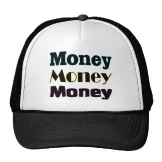 dinero del dinero del dinero gorra