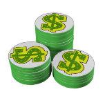 Dinero, dinero, fichas de póker de la diversión juego de fichas de póquer