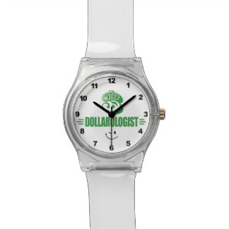Dinero divertido reloj de mano