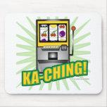 ¡Dinero grande de Ka-Ching! Alfombrilla De Ratones