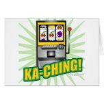 ¡Dinero grande de Ka-Ching! Felicitaciones