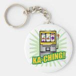 ¡Dinero grande de Ka-Ching! Llavero Personalizado