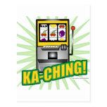 ¡Dinero grande de Ka-Ching! Tarjetas Postales