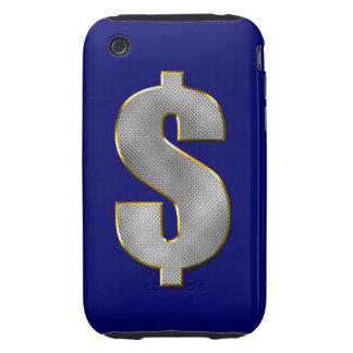 Dinero grande iPhone 3 tough carcasas