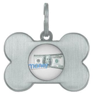 Dinero Placa Mascota