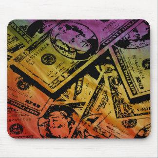 Dinero Mousepad del arco iris Alfombrillas De Raton