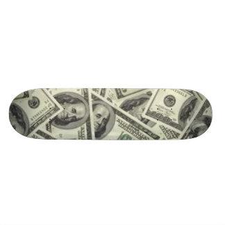 "dinero patineta 7 3/8"""