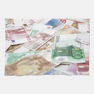 Dinero & riqueza toallas de mano