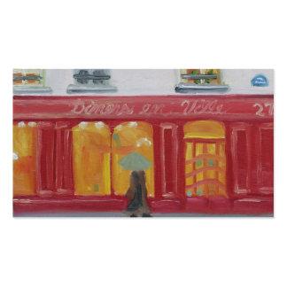 DINERS EN VILLE BUSINESS CARD