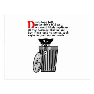 Ding Dong Bell Postcard