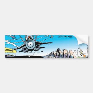 Ding Duck Air Show Bumper Sticker