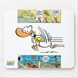 Ding Duck Cartoon Mouse Mats