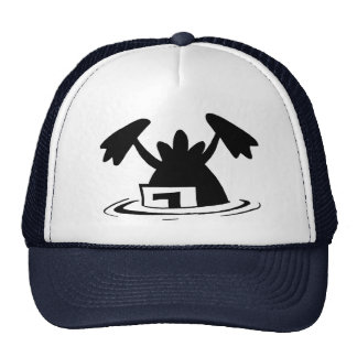 Ding Duck Crashed Again Mesh Hats