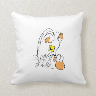Ding Duck Crashed Again Swamp Pillow