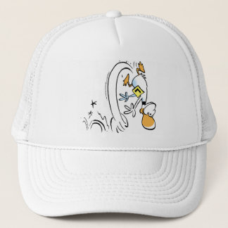 Ding Duck Crashed in the Swamp Trucker Hat
