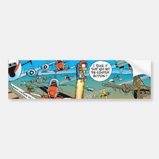 Ding Duck Ejector Seat Button Bumper Sticker