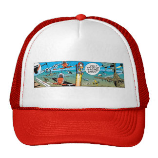 Ding Duck Ejector Seat Cap Mesh Hats