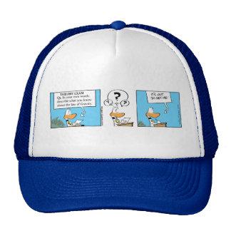 Ding Duck Flight Exam Cap Trucker Hat