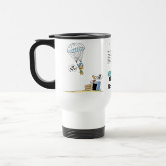 Ding Duck Funny Coffee Cartoon Travel Mug