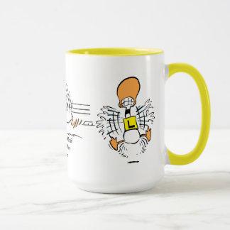Ding Duck Funny Coffee Mug