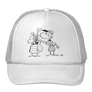 Ding Duck With his Caddy Trucker Hat