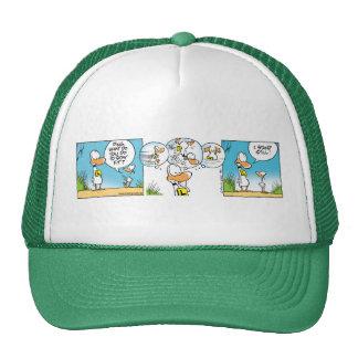 Ding Duck Workout Plan Cap Trucker Hats