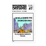 Dingburg stamp