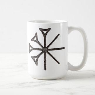 Dingir Classic White Coffee Mug