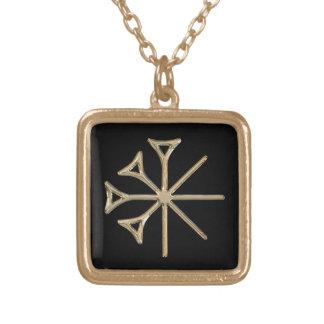Dingir Square Pendant Necklace