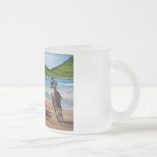 Dingle Wall Art Frosted Glass Coffee Mug