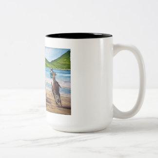 Dingle Wall Art Two-Tone Coffee Mug