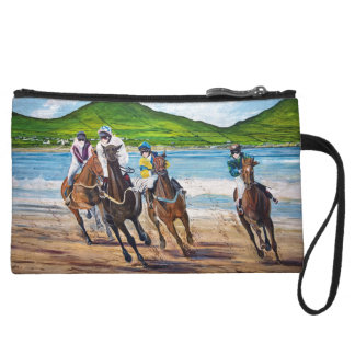 Dingle Wall Painting Wristlet Wallet