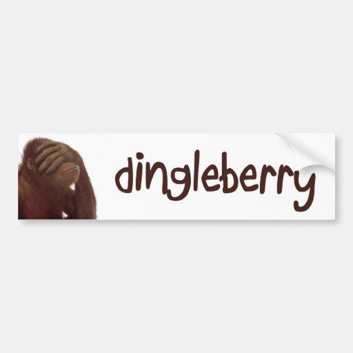 dingleberry bumper sticker