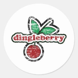 Dingleberry Classic Round Sticker