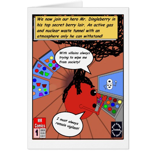 Dingleberry Lair Card