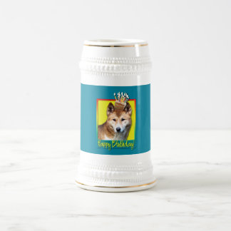 Dingo de la magdalena del cumpleaños jarra de cerveza