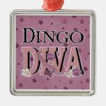 Dingo DIVA Christmas Tree Ornament