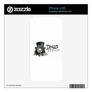 Dingo Dizmal portrait done by Kevin Reynolds. Decal For The iPhone 4