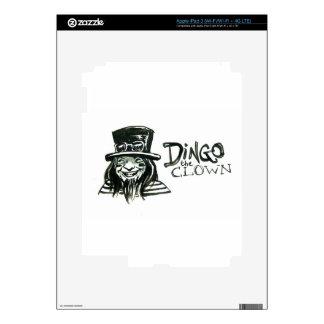 Dingo Dizmal portrait done by Kevin Reynolds. iPad 3 Skins