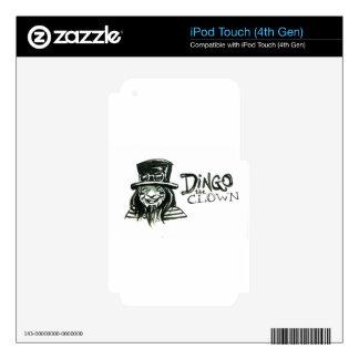 Dingo Dizmal portrait done by Kevin Reynolds. iPod Touch 4G Skin