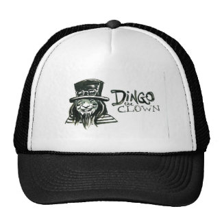 Dingo Dizmal portrait done by Kevin Reynolds. Trucker Hat