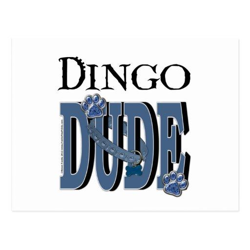 Dingo DUDE Postcard
