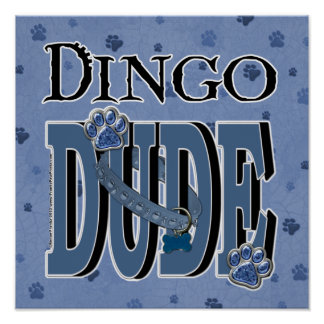 Dingo DUDE Posters