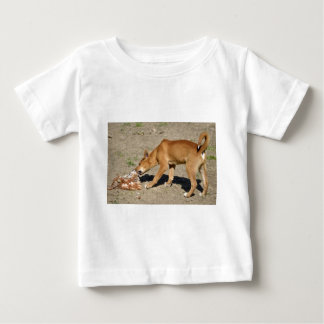 Dingo eating poultry baby T-Shirt
