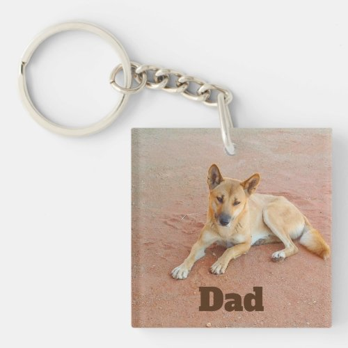 Dingo keychain for Dad