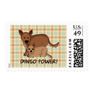 Dingo Power Postage Stamps