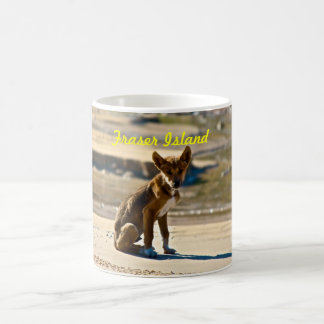 Dingo Puppy -Fraser Island Coffee Mug