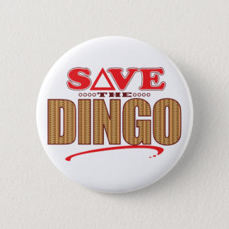 Dingo Save Pinback Button
