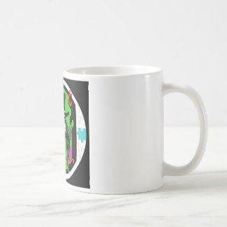 DINGO the CLOWN Classic White Coffee Mug