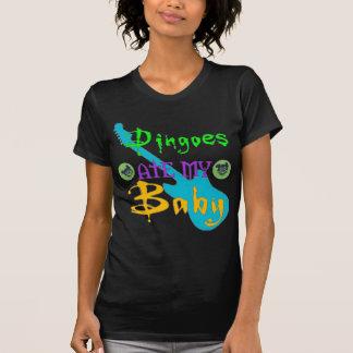 Dingoes comió a mi bebé camiseta